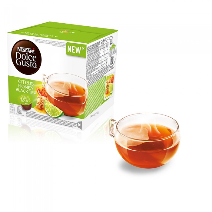New Citrus Honey Black Tea